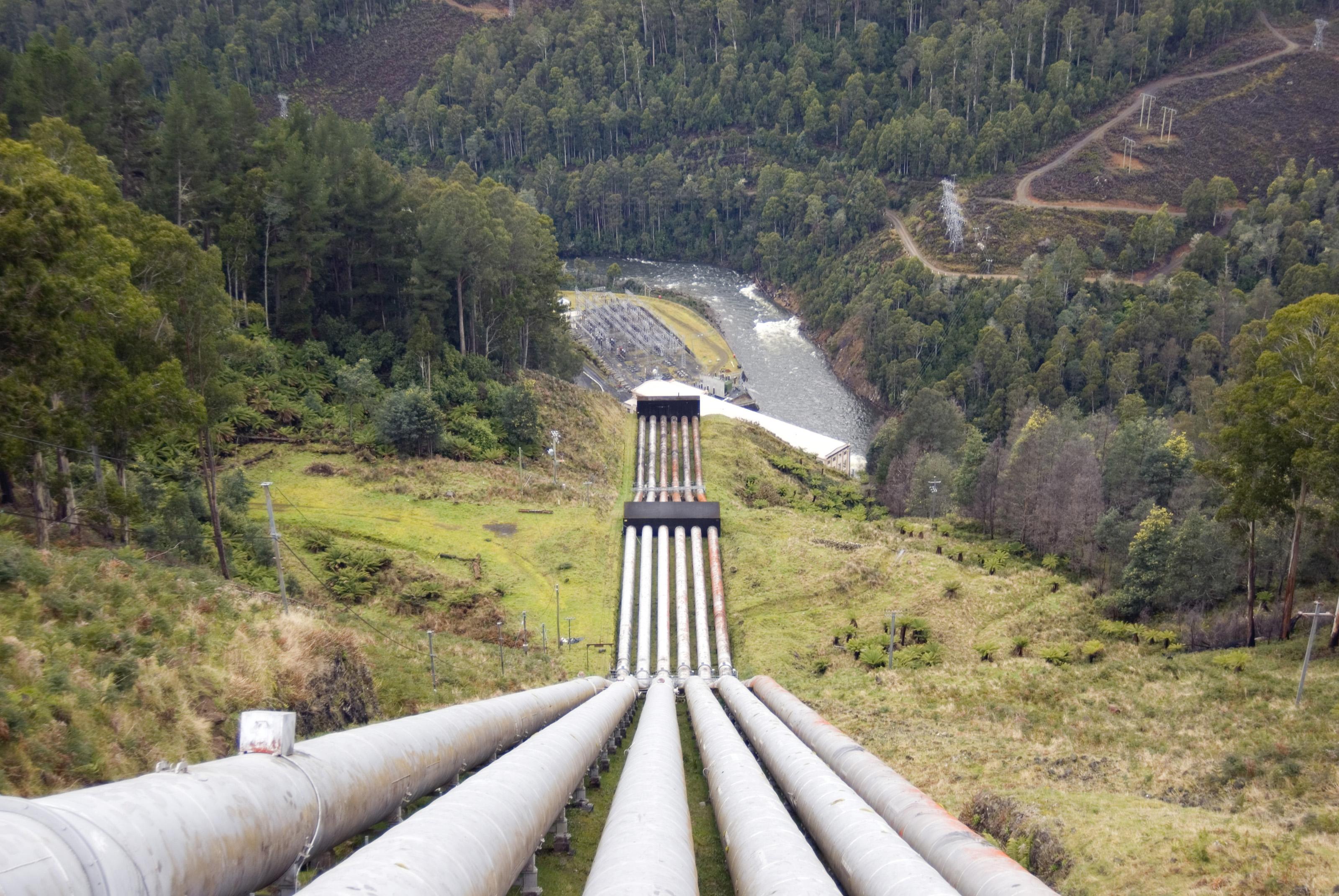 mountan pipeline